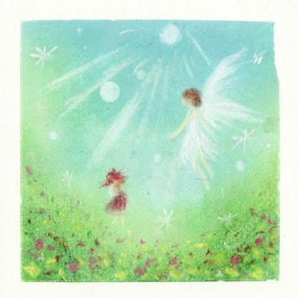 天使と小女