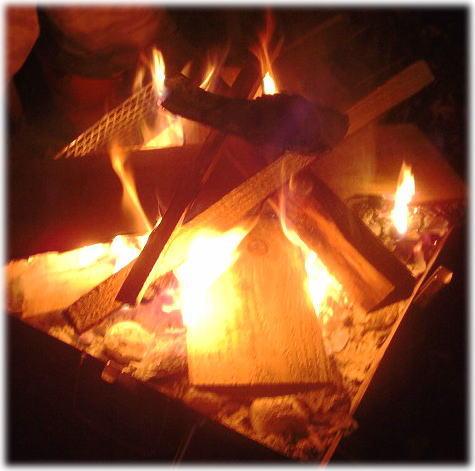 27焚き火