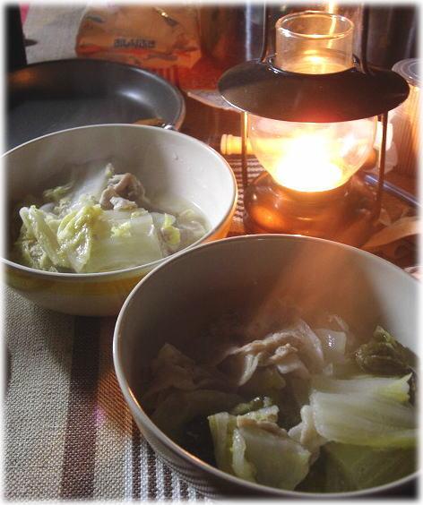 28白酒のお鍋
