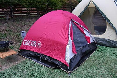 19クロスターのテント