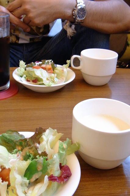 6サラダとスープ