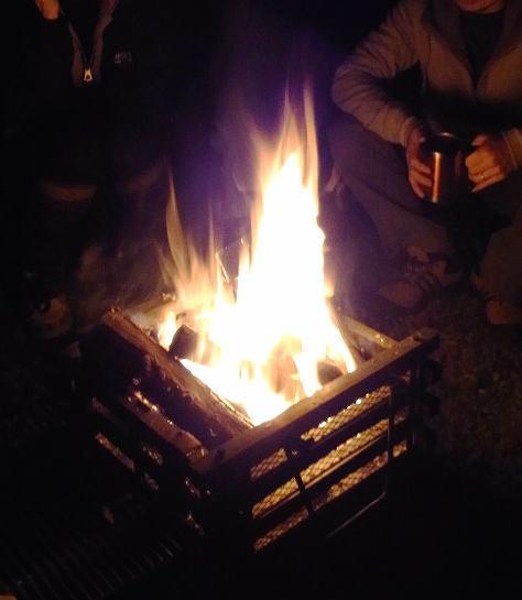 11焚き火