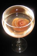 漬け汁と白ワインで・・・サングリア風^^