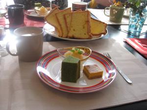 ふわふわパン~ シフォンケーキはみんなのお気に入り♪