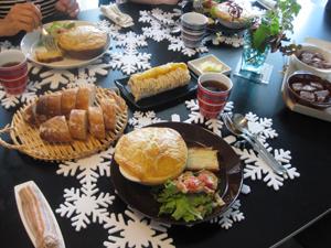 クリスマスメニュー 第1回目  Kitouサンと、Yukaチャンと♪