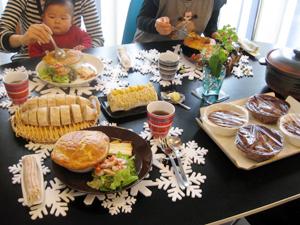 クリスマスメニュー2回目☆Ayaチャン+ライトクン・Yukaチャン+いづみチャンと♪