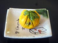 黒豆入り☆かぼちゃの茶巾しぼり