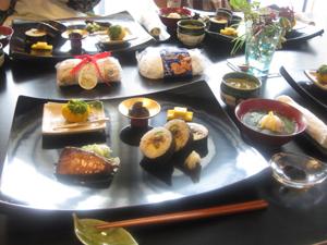 お祝い膳 Kitouサンと、Sai子サンと♪