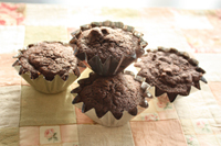 ミシシッピマッド(チョコ)カップケーキ