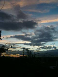 今日も空はきれい