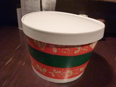 クリスマスプレゼントチキン (1)