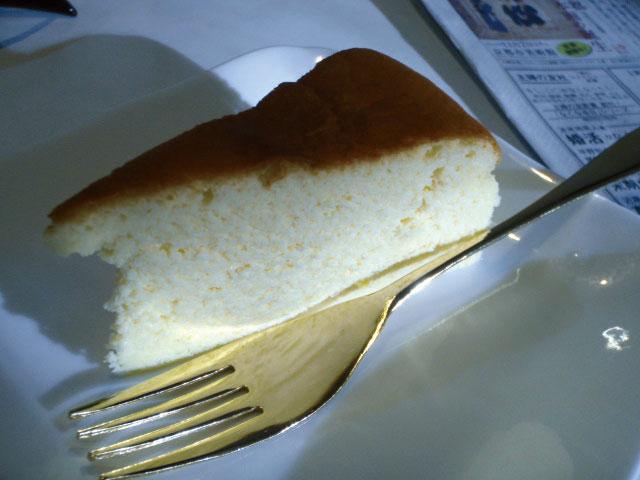 チーズケーキも好きやねん