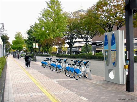 自転車共同利用システム(富山)