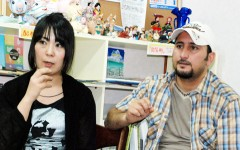 高遠菜穂子さん(左)とワセック・ジャシムさん