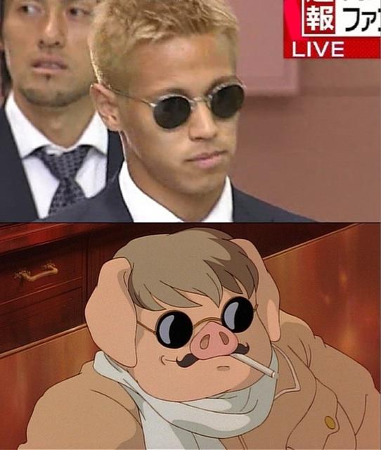 本田・紅の豚