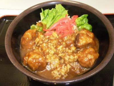 豆腐茶屋がんこ鶏唐カレー301円