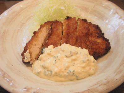 南蛮食堂チキン南蛮とタルタルソース