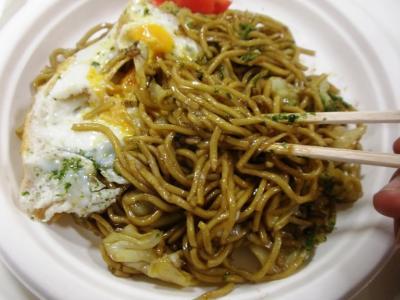 阪神物産展横手焼そばの麺
