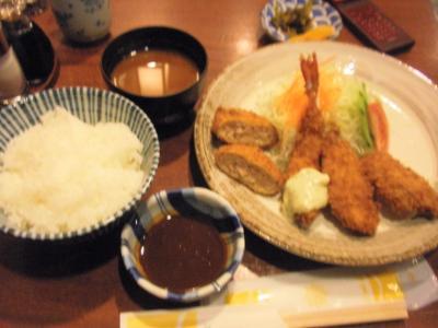花柳ホワイティ店サービスランチ600円