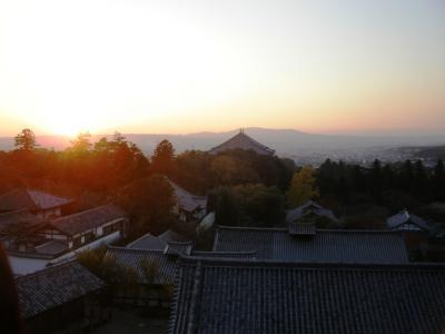 二月堂から奈良市街