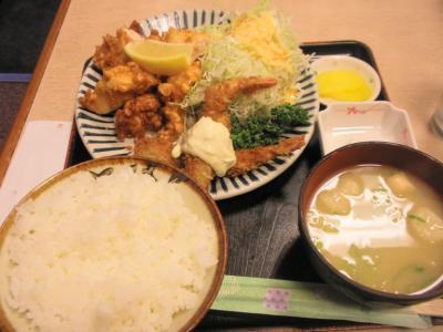 北野屋北野定食780円