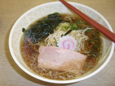 芦屋市役所ラーメン350円