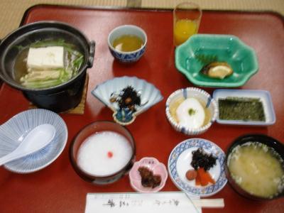 三井別館朝食