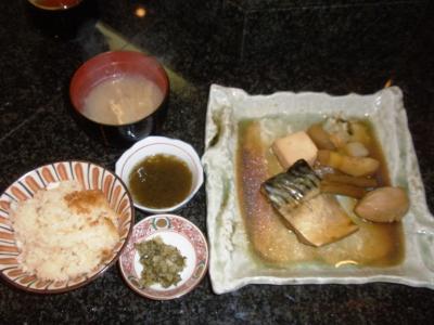 おがわ鯖煮定食