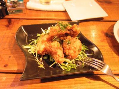 Sense若鶏の竜田揚げ香味ソース480円