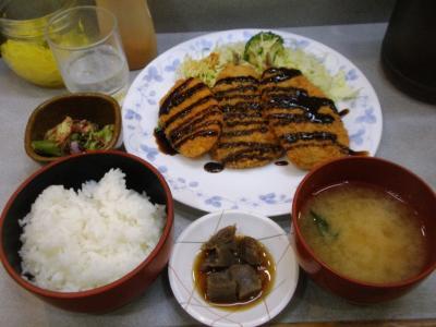 COOCOOイワシフライ定食530円