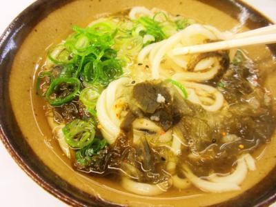 野田阪神本通商店街こんぴらさん昆布うどん麺