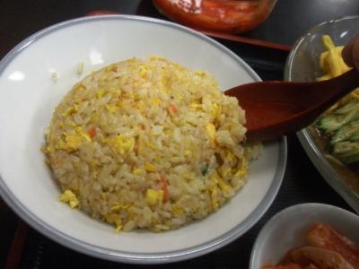 桜橋店冷麺セット焼めし