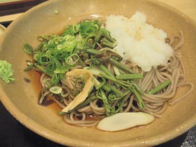 讃州一番山菜おろし定食山菜おろしそば