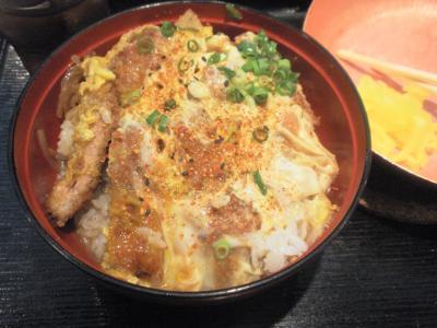 祭太鼓大阪駅前第三ビル店かつ丼ごはんのせ