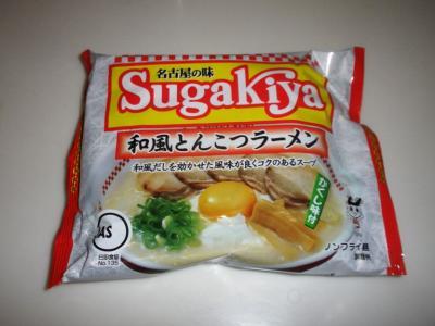 寿がきや和風とんこつラーメン105円