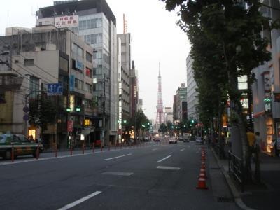 六本木より東京タワー