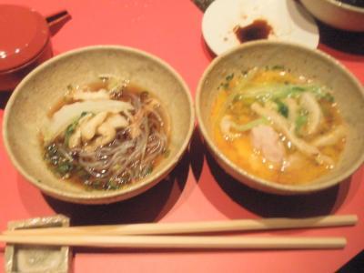 艶食月島屋大阪北新地店艶鍋はポン酢と玉子で