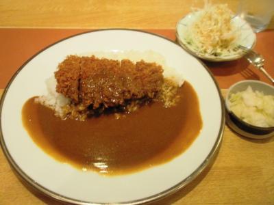 KYK梅田店カツカレー830円