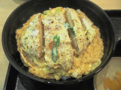 讃州一番カツ丼定食カツ丼