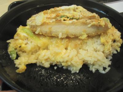 讃州一番カツ丼定食カツ丼のカツ