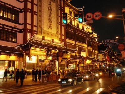 上海老街の夜1