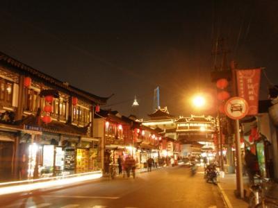 上海老街の夜2
