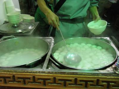 七宝老街湯団店1個2元