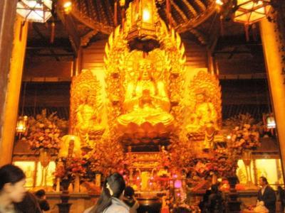 上海龍華古寺仏像1
