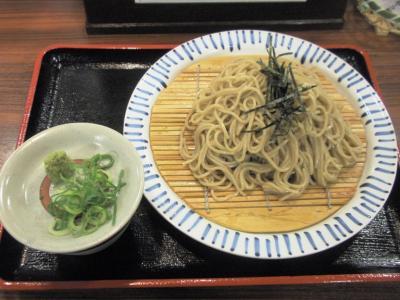 家族庵野田店ざるそば390円