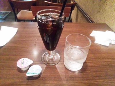 生ハムと酒処アカリランチドリンク+100円アイスコーヒー