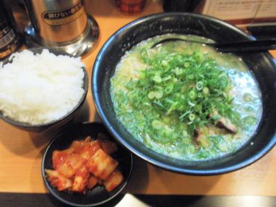 ラー麺マン道頓堀店しょうゆラーメン定食サービスタイム500円