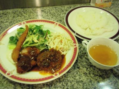 阪神ベンガル洋食セット701円