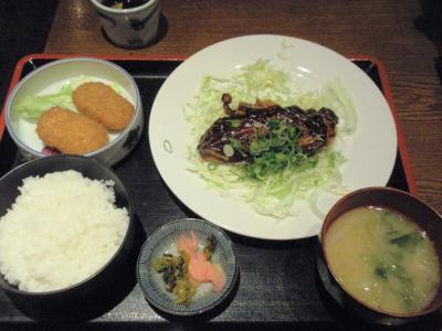 ニユートーキヨー庄屋新阪急ビル店庄屋定食750円20110125