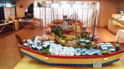 かつうら御苑20110220夕食バイキング会場